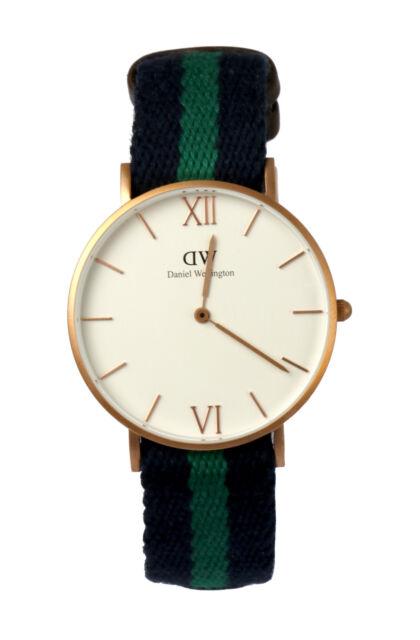 DW Daniel Wellington Armbanduhr Uhr Warwick 0553DW Rose Gold mattiert