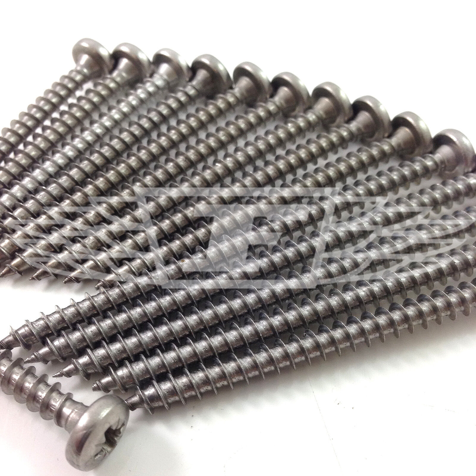 STAINLESS STEEL A2 POZI PAN HEAD ROOFING SCREWS - CHOICE OF 2