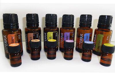 Probierset mit 6 ätherischen Ölen für Gesundheit, gute Laune & Wohlbefinden