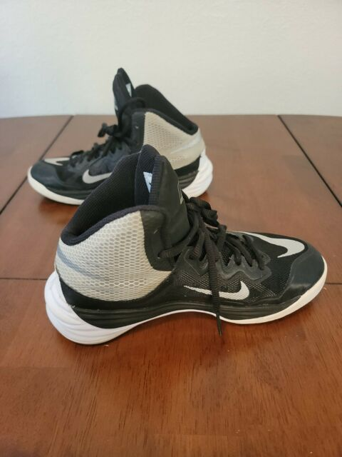 Nike Prime Hype DF II, Model 807613-001 Men's Size 4.5Y Athletic Tennis Shoes