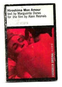 N4 - Marguerite DURAS / Hiroshima Mon Amour - 1961 Film Edition B&W Photos