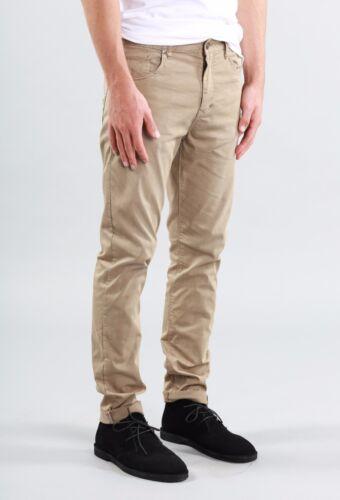 Rusty Indi Slims Men Slouch Rise Narrow leg Illusion Pants Fennel Khaki Size W32