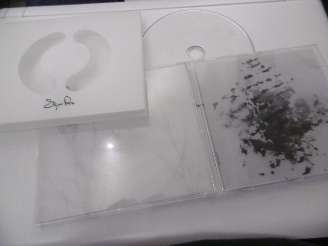 Sigur Ros Originale Rilascio con Stencil Custodia in Neoprene CD Album 2002