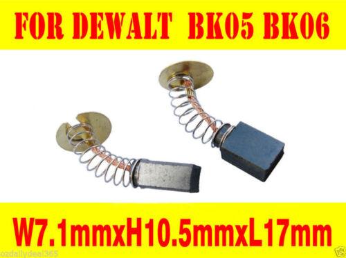 Carbon Brushes For Black Decker BK05  BK06,450374-12 2214-90 Type 101 1//2