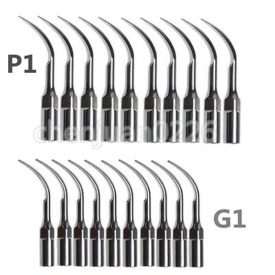 US Stock! 20* Ultrasonic Dental Scaling Perio Tips For EMS WOODPECKER P1 G1
