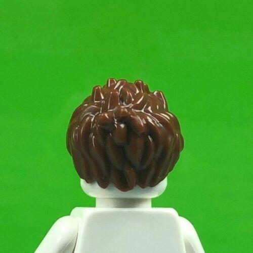 LEGO MINIFIGURE HAIR SPIKED REDDISH BROWN MINIFIG HAIR PIECE 98385