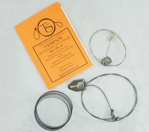 NEW Survival Kit for Trapping by Thompson Snares FREE SHIPPING