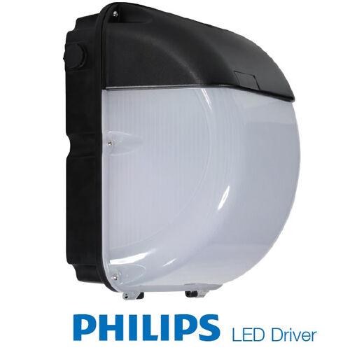 40 Watt LED Wall Pack LED IP65 Outdoor 4400lumen Philips Driver