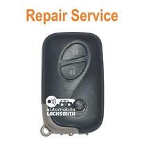 Lexus Denso LS400 RX300 GS 3 button smart remote key fob REPAIR SERVICE