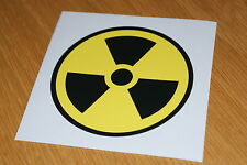 Nuclear/Radiation Sticker