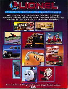 1995 LIONEL TRAINS  CONSUMER CATALOG MINT