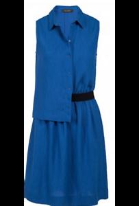 630ee7080 Détails sur COP COPINE ETE 2018 : robe asymétrique modèle LAGU 38 bleu  cobaltCOP COPINECOP C