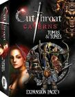 Cutthroat Caverns Tombs and & Tomes Expansion 3 BRAND