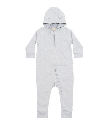 LARKWOOD Polaire Tout en un Babygrow Chaud Confortable Combinaison Onesy Enfants Hiver