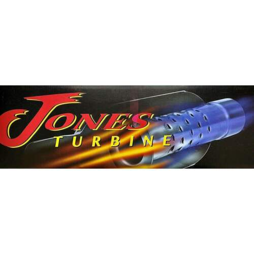 "Turbine and Turbo Muffler 4/"" IN//OUT JT4040XL Jones Flow Pack"