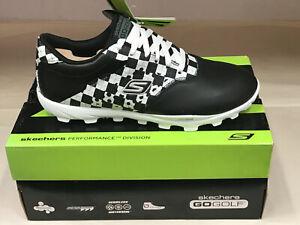 NEW Skechers Go Golf Black/White Womens Golf Shoes 7M WATERPROOF Were $100