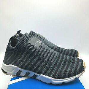 AH2129 Adidas Originals EQT BASK ADV Women Shoes GreyOnyxWhite