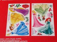 Disney Princess Winter/ Christmas Peel & Stick 21 Wall Decals Stickers Graphics