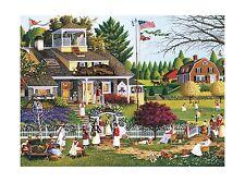 Buffalo Games Charles Wysocki: Love - 1000 Piece Jigsaw Puzzle ... Free Shipping