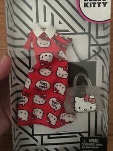 b1f516b77 NIB Barbie Sanrio Hello Kitty Fashion Packs Red Dress + Accessories ...