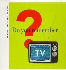 Do You Remember TV?: The Book That Takes You Back Gitter, Michael, Glazer, Erik