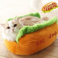 1x Puppy Pet Dog Cat Fleece Cozy Warm Bed  Soft Removable House Nest Mat