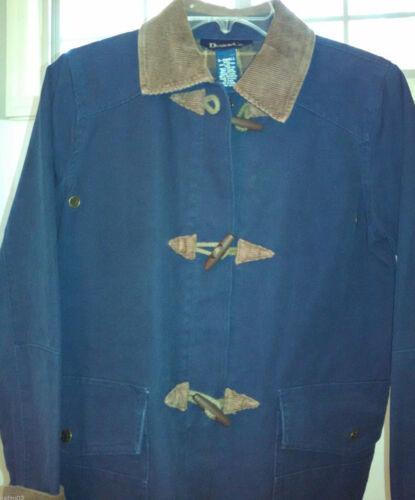 Petite Coat Denim & Co XS Barn Jacket Flannel Line
