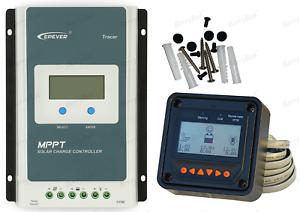 Solar Charge Contrôleur 10 A epever Maximum Power Point Suivi Régulateur 100V+ MT50