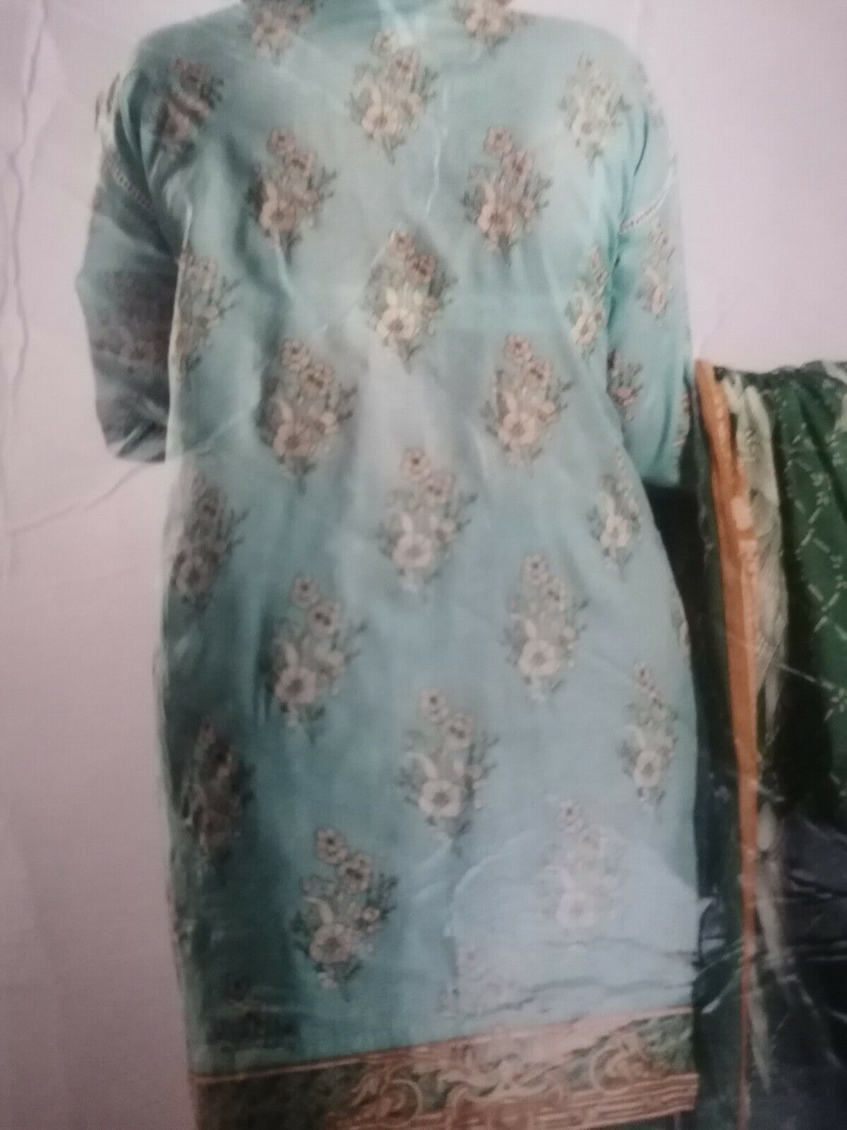 Bollywood Lawn Summer Floral Salwar Kamiz Material 3pc