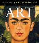 2017 Art Gallery Calendar Workman Publishing 9780761188612