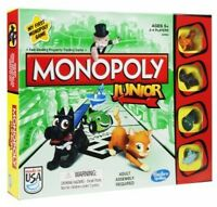 Kids First Monopoly Game, Play Toys Board Games Banknotes Pet Store Chance Cards