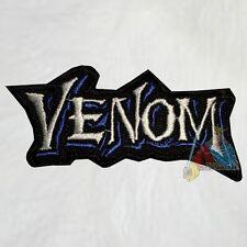 Venom Word Logo Embroidered Patch Marvel Comic Carnage Lizard Spiderman Villain