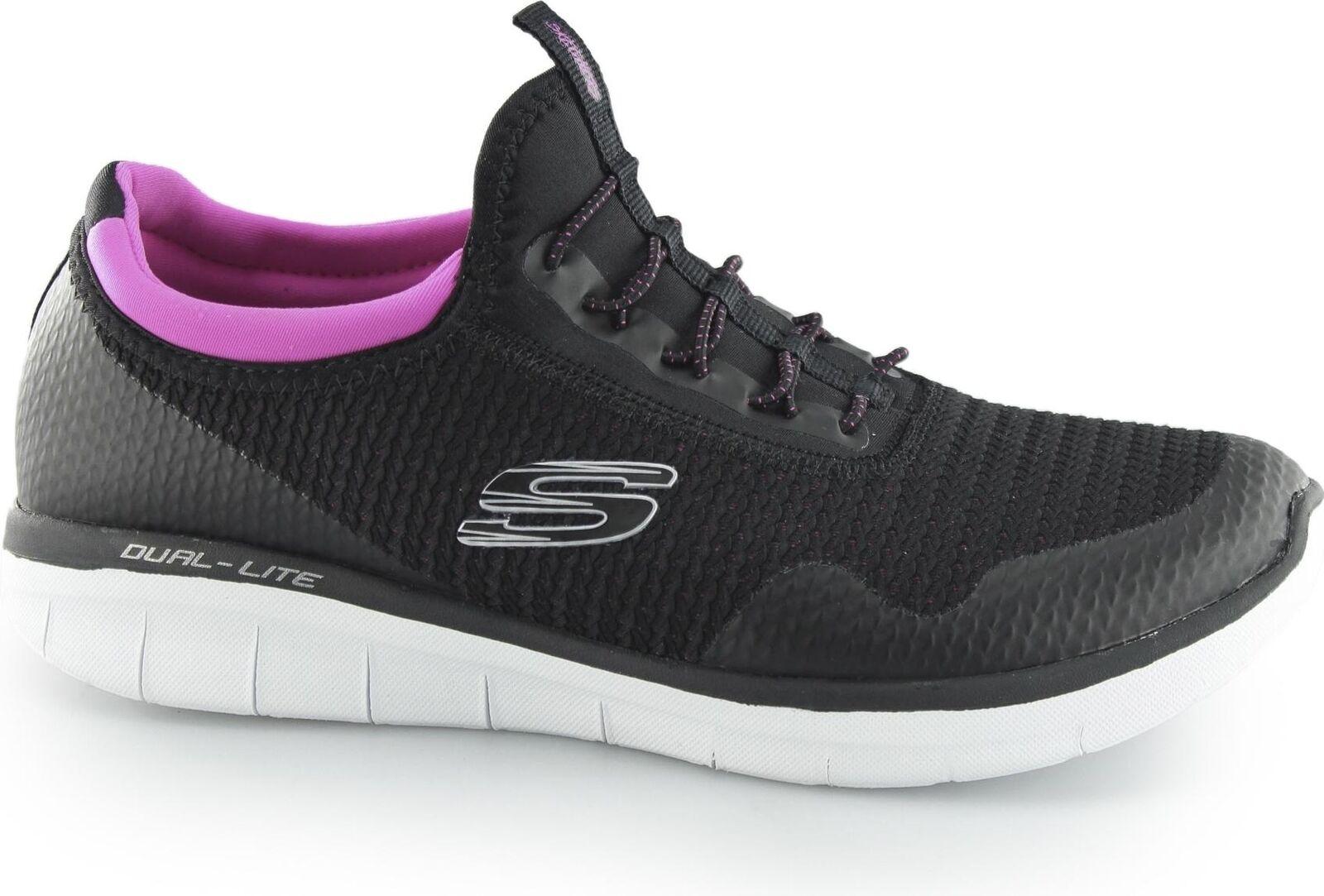 Skechers SYNERGY 2.0 2.0 2.0 - MIRROR IMAGE Ladies Womens Memory Foam Slip On Trainers cf2bfc