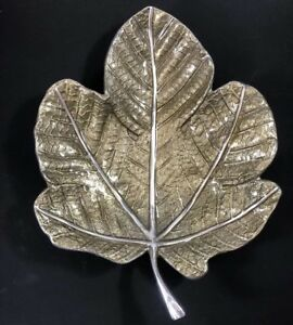 Mariposa Large Leaf Tray 100/% Recycled Aluminum Made in Mexico