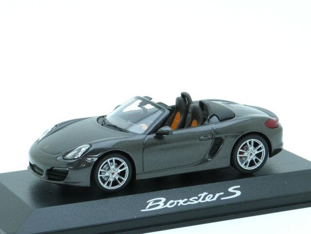Porsche Boxster Cabrio Weiss 981 Ab 2012 1//43 Minichamps Modell Auto mit oder ..