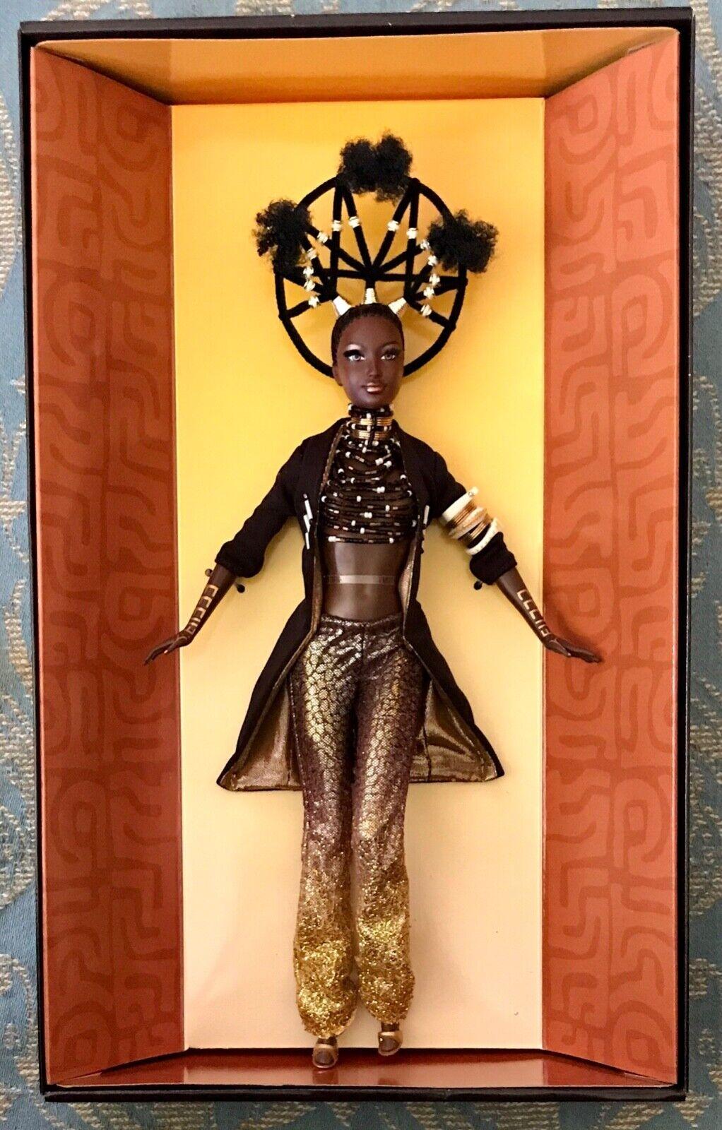 Barbie  moja tesoros de África Diseñado Por Byron Lars 2001 50826 nunca quitado de la caja