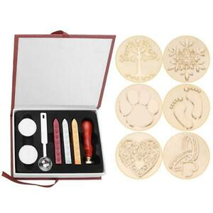 Vintage-Sealing-Wax-Stamps-Set-Gift-Box-Wedding-Invitation-Envelope-Supply-UK