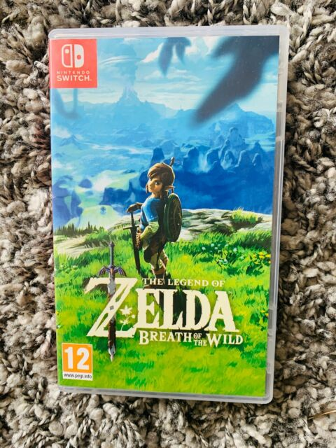 The Legend of Zelda Breath of the Wild - Nintendo Switch Game Used