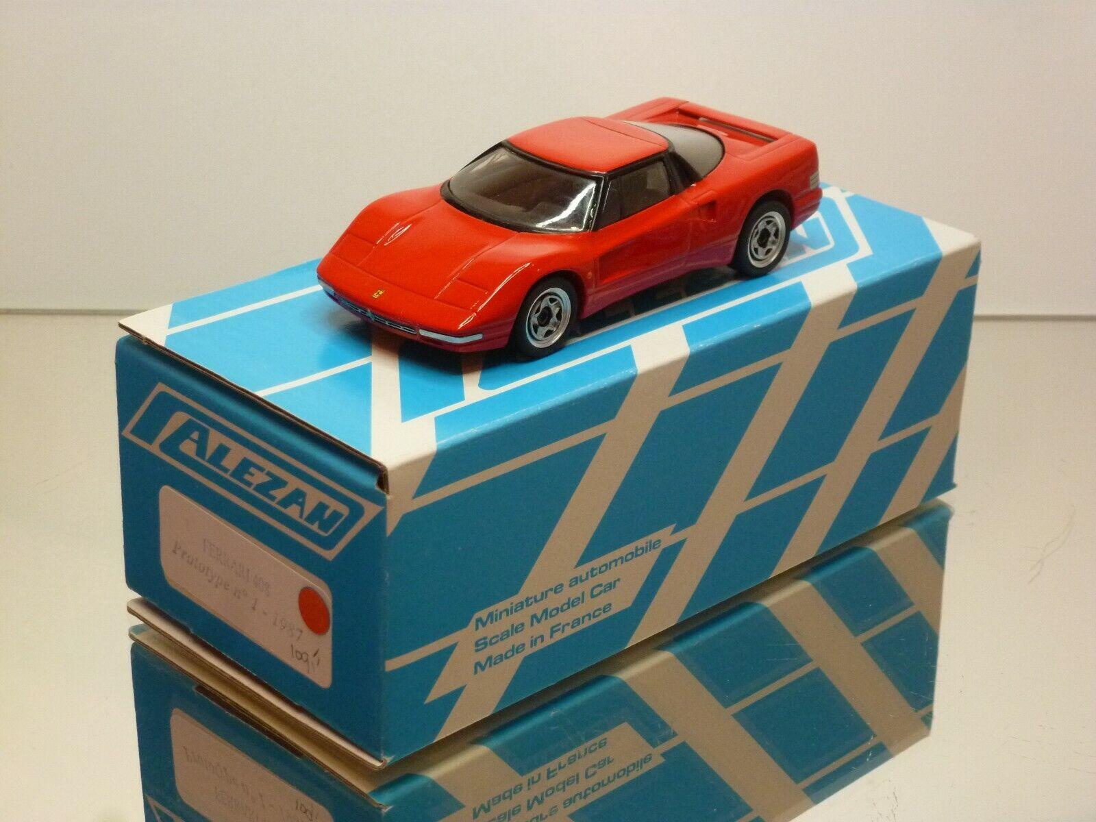 ALEZAN FERRARI 408 PredOTYPE No 1 - 1987 - RED 1 43 - EXCELENT CONDITION IN BOX
