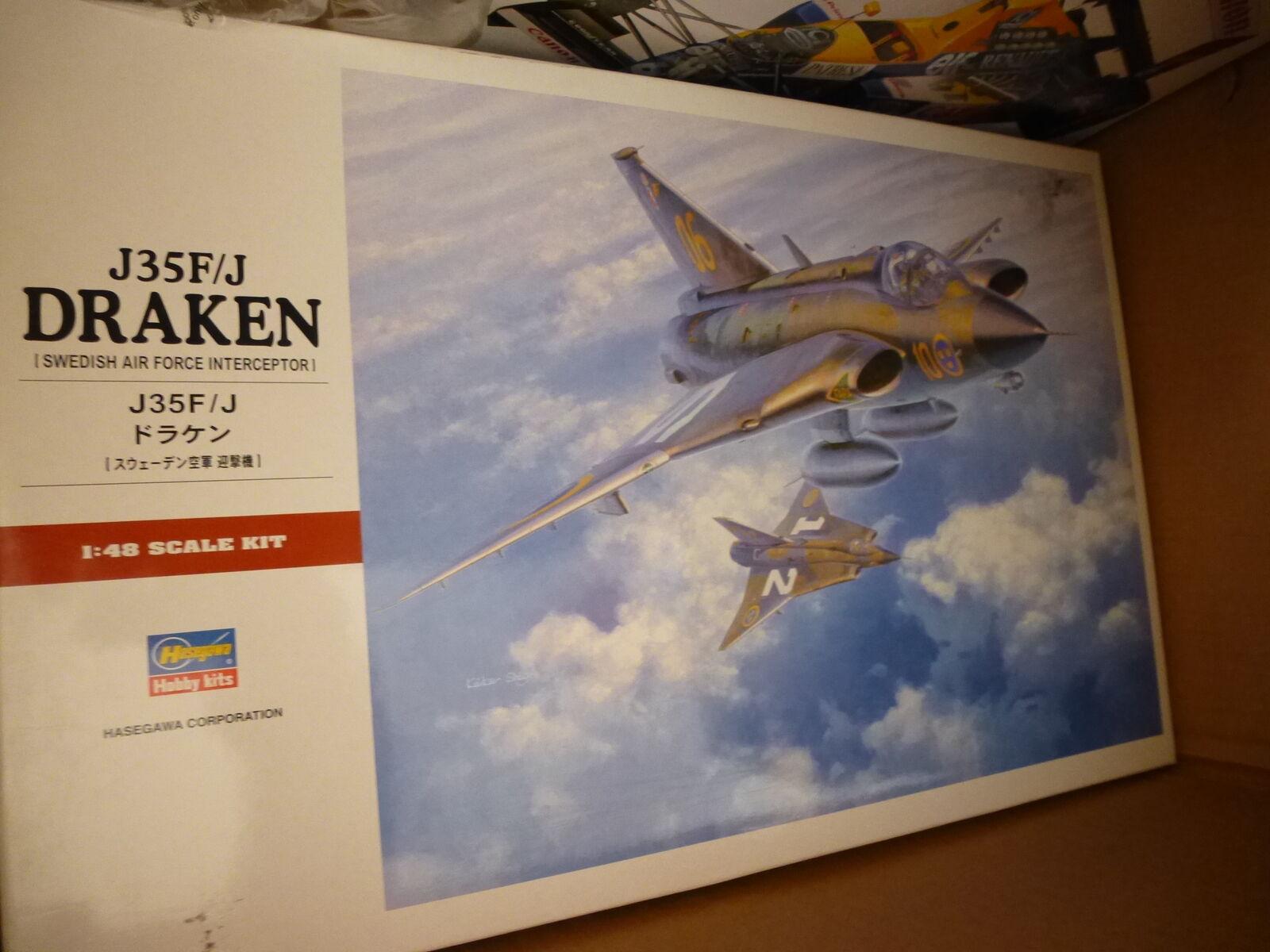 Hasegawa 1 48 J35F J Draken