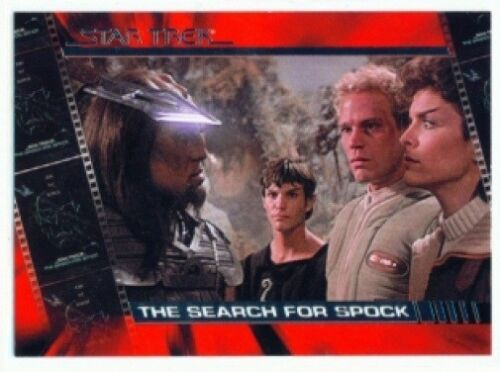"""/""""PLOT SYNOPSIS CARD S8/"""" COMPLETE STAR TREK MOVIES"""