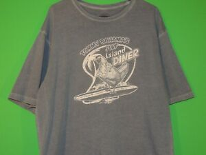 Tommy-Bahama-Mens-Size-L-Large-Surf-Island-Diner-Relax-Crewneck-T-Shirt