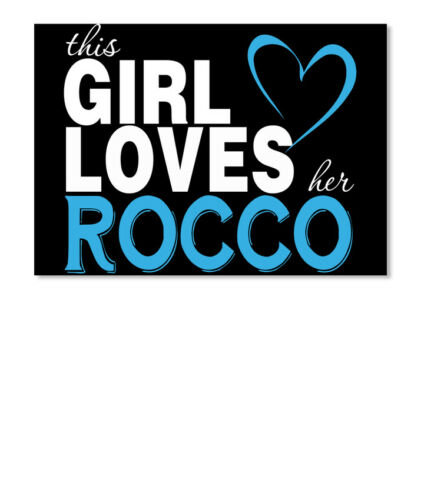 Details about  /This Girl Loves Her Rocco Landscape Customizable Name Rocco Sticker