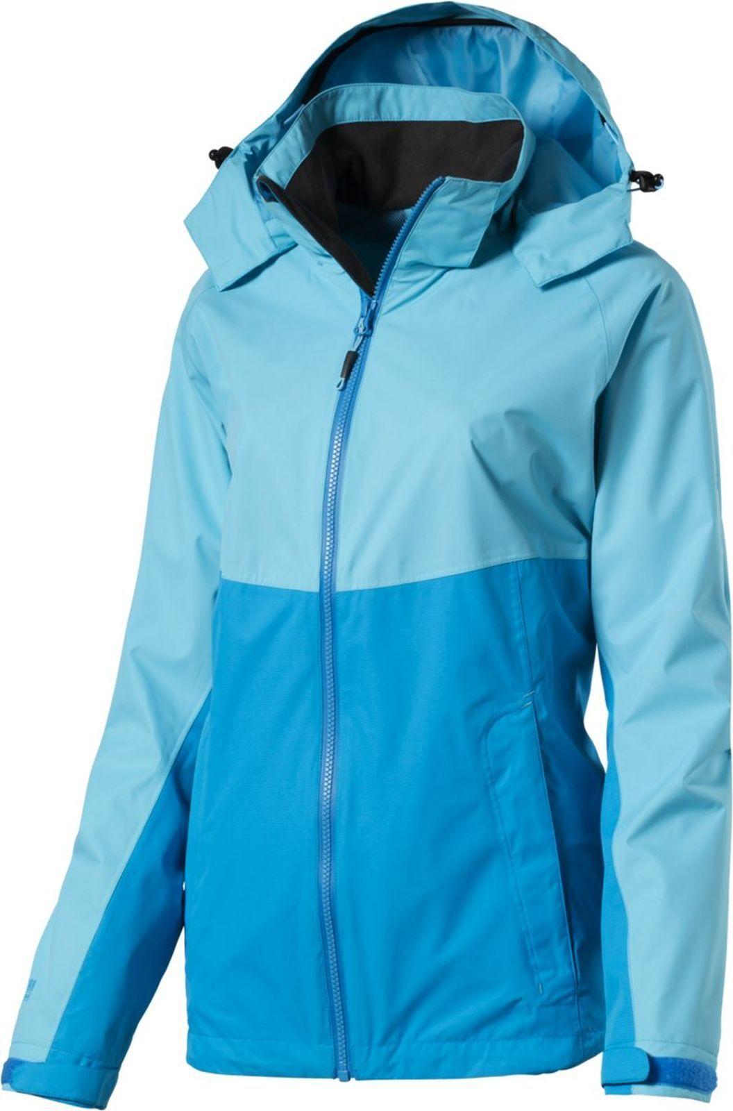 McKinley Damen Wander-Freizeit- Funktions-Jacke LAGLAN türkis blau