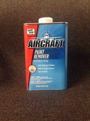 Klean Strip Aircraft Paint Remover Non Flammable Quart