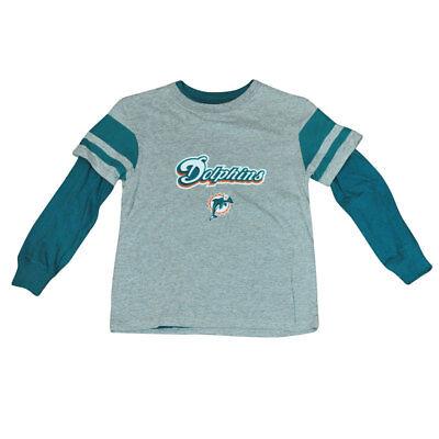Sport Fanartikel Nfl Reebok Miami Dolphins Jugendliche 3 In 1 Kombination Langarm Shirt Dk4070 Knitterfestigkeit