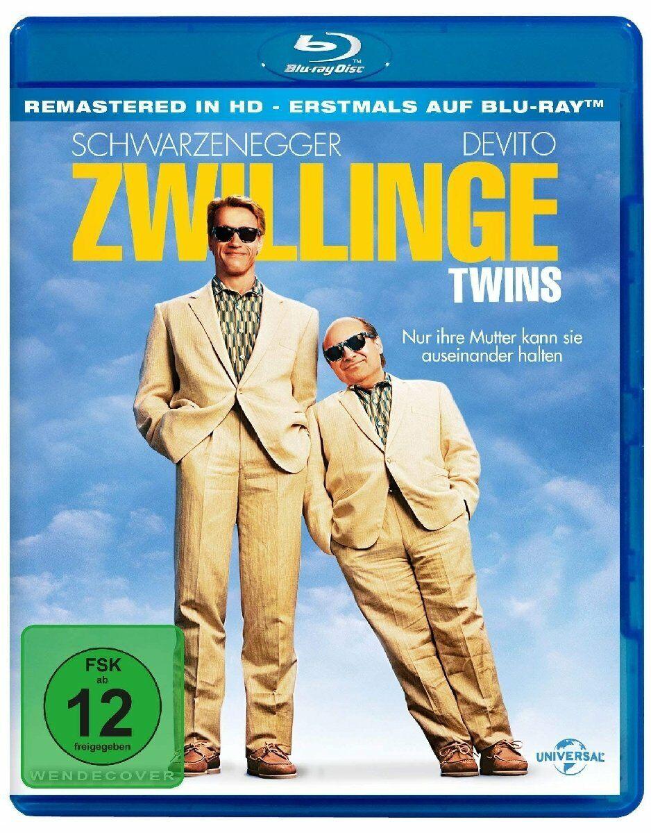 Blu Ray Twins 1988 Arnold Schwarzenegger Danny Devito Ivan Reitman Region B For Sale Online Ebay