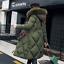 Womens-Winter-jacket-Down-Cotton-long-parka-Fur-Hood-Puffer-Coat-ladies-Outwear thumbnail 4