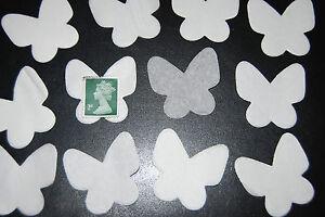 Confiant Papillons Blancs-mariage Confettis-bio-dégradable Tissus Confettis -1000 Pieces-afficher Le Titre D'origine Prix De Rue