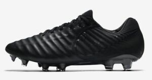 New Nike Tiempo Legend VII FG Soccer Cleat Academy Pack Black Size 6 ... f470314d0